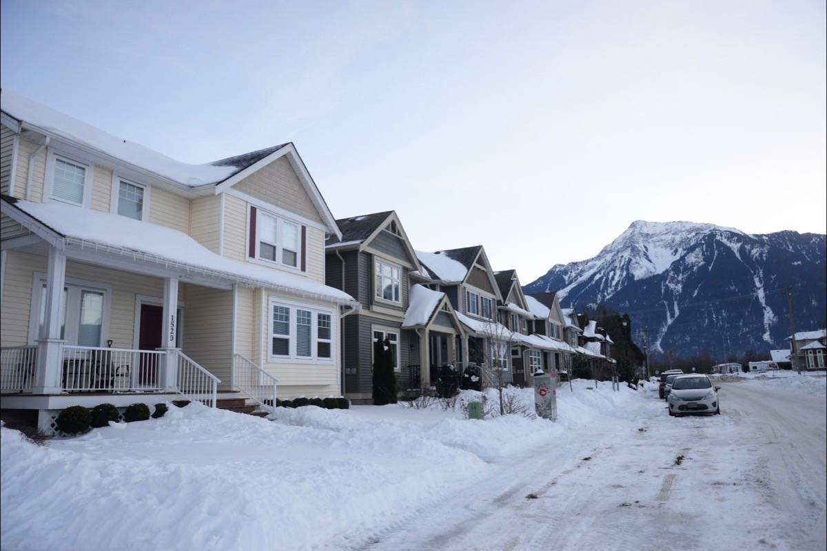Snow Removal in Agassiz