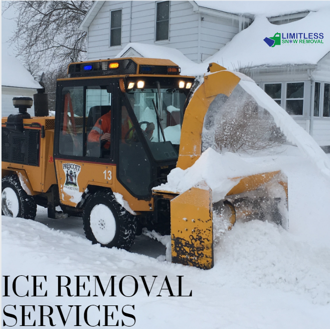Reliable ice removal services