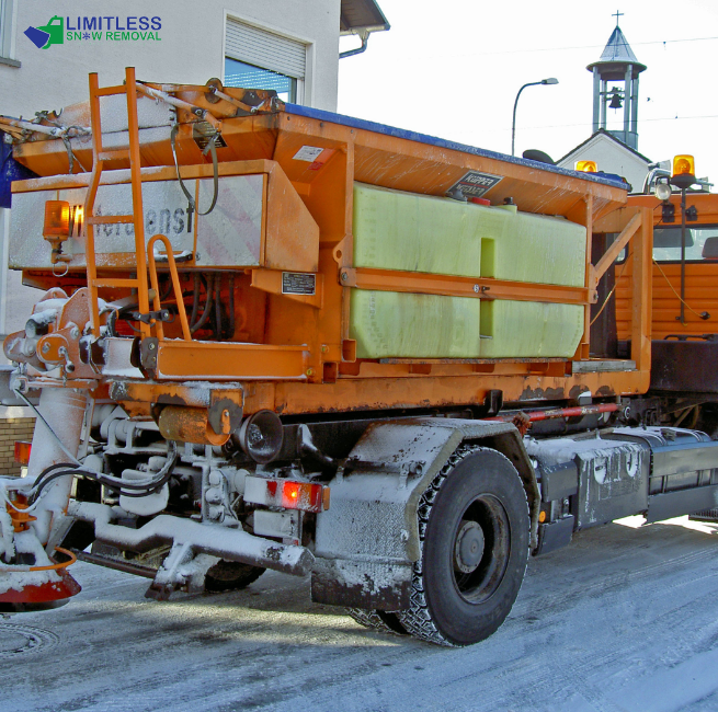 Get snow removing services