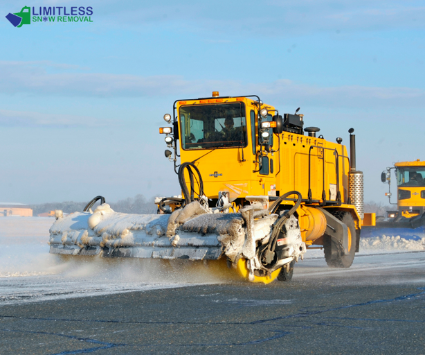 Get snow removal services